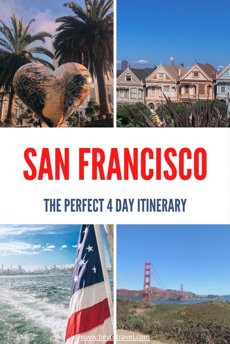 3 days in San Fransisco