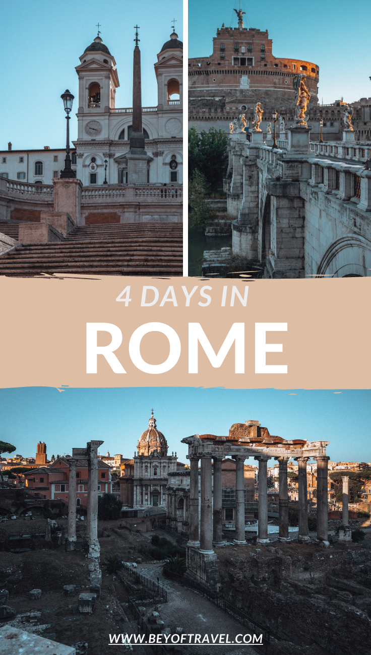 4 days in Rome