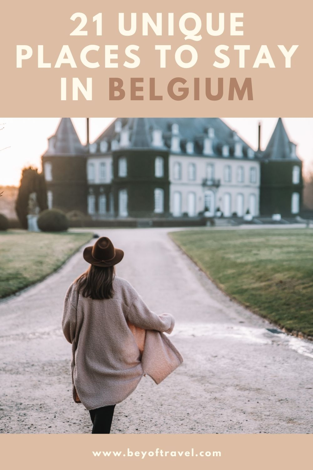21 unique places to stay in Belgium