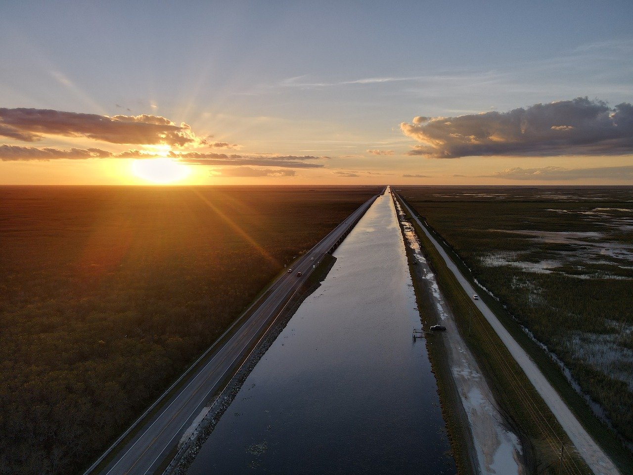 Hiking in the Everglades