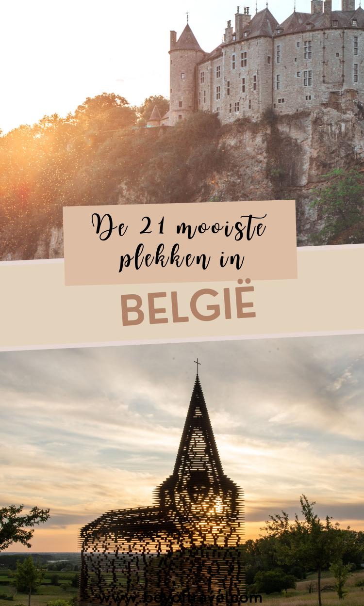 Mooiste plekken in Belgie