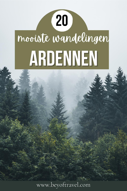Mooiste wandelingen Ardennen