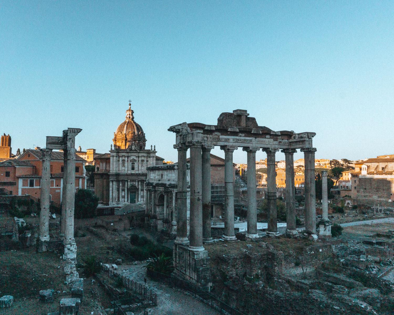Bezienswaardigheden Rome