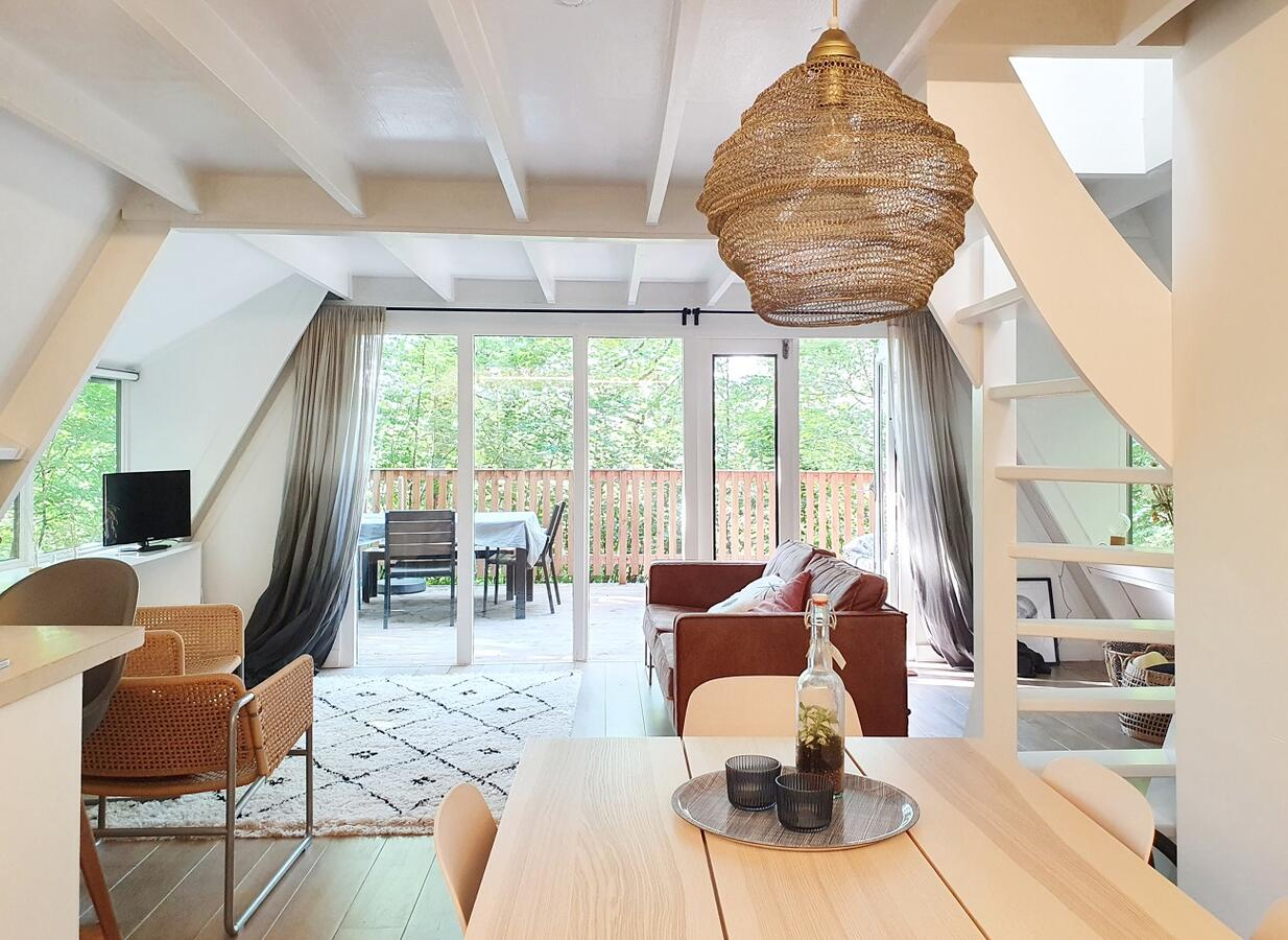 Unique places to stay in Belgium Moderne A frame cabin