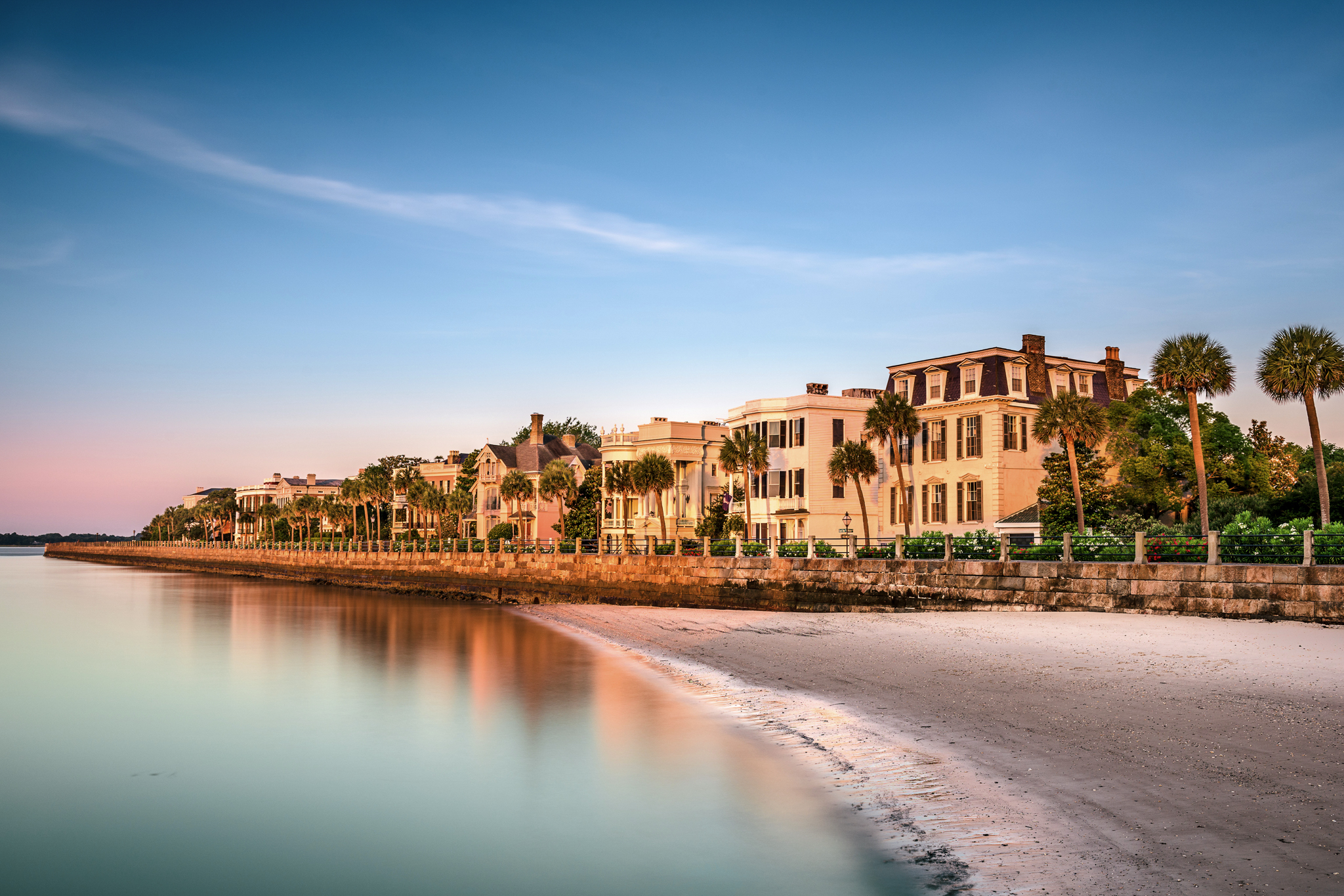 Most beautiful state US Charleston Historic Homes District