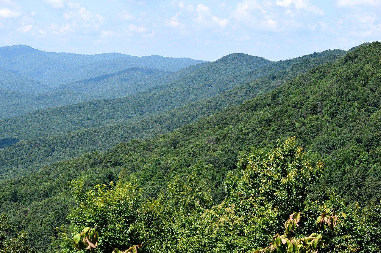 Most beautiful state usa appalachian-mountains-