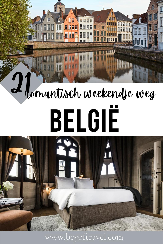 Romantisch weekendje weg België