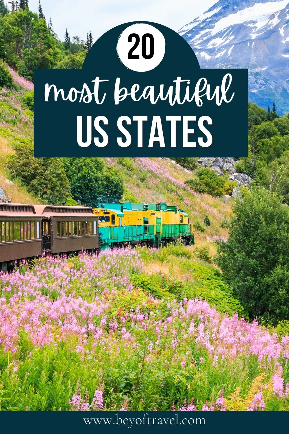 most beautiful States in the USA