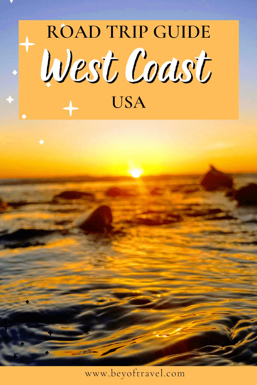 west coast usa pin
