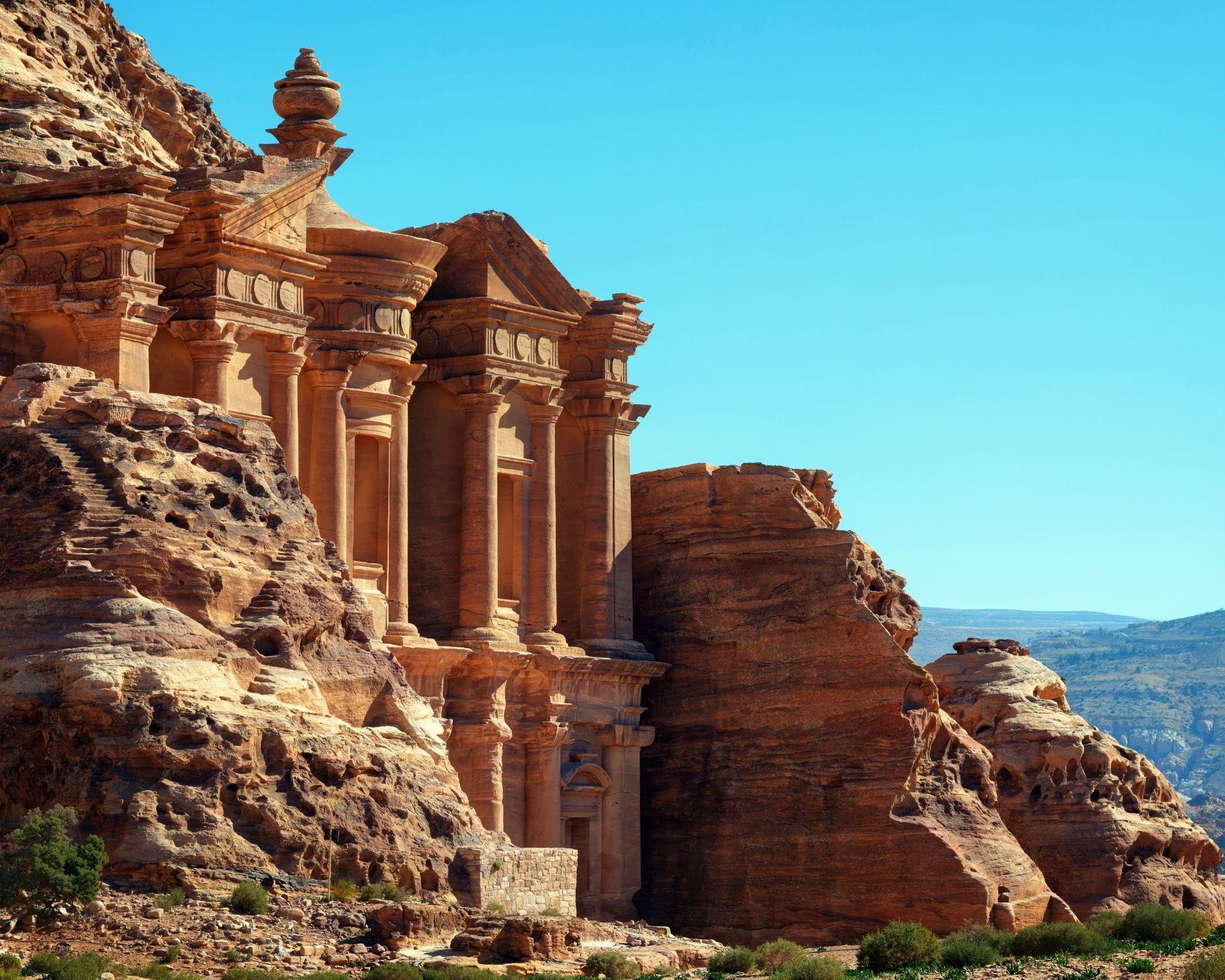 7 day itinerary Jordan